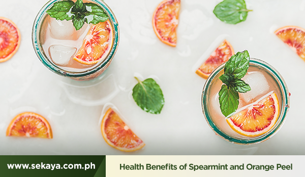 The Health Benefits of Spearmint and Orange Peel